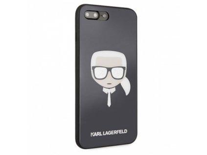 "Karl Lagerfeld kryt pro iPhone 7+ / 8+ (5,5"") černý, KLHCI8LDLHBK"