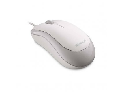 Microsoft P58-00060 USB optická myš k počítači bílá