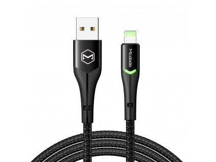 MCDODO CA-7843 USB kabel pro iPhone / Lightning 2,4A / 1,8m - černý