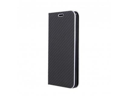 Pouzdro Smart Venus Carbon pro Huawei P40 černé
