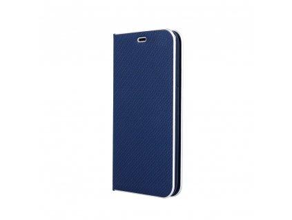 Pouzdro Smart Venus Carbon pro Huawei P40 modré