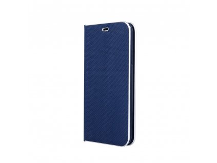 Pouzdro Smart Venus Carbon pro Samsung Galaxy A40 modré