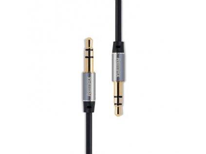 Remax Aux kabel - 3,5mm jack / 3,5mm jack / 2m černý
