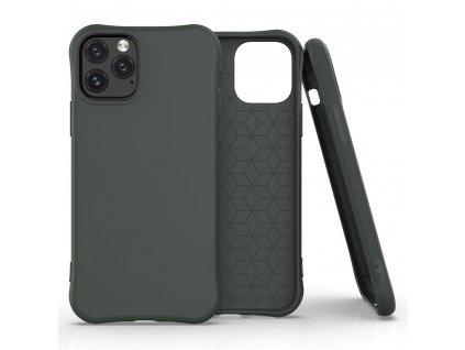 Pouzdro Soft Color Case pro iPhone 11 PRO MAX tmavě zelené