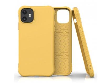 Pouzdro Soft Color Case pro iPhone 11 žluté