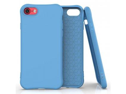 """Pouzdro Soft Color Case pro iPhone 7 / 8 (4,7"""") / SE 2020 modré"""