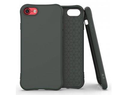 "Pouzdro Soft Color Case pro iPhone 7 / 8 (4,7"") / SE 2020 tmavě zelené"