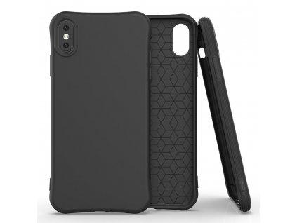 Pouzdro Soft Color Case pro iPhone X / Xs černé