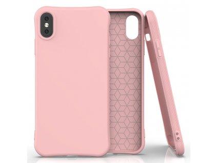 Pouzdro Soft Color Case pro iPhone X / Xs růžové