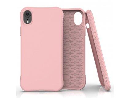 Pouzdro Soft Color Case pro iPhone Xr růžové