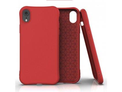 Pouzdro Soft Color Case pro iPhone Xr červené