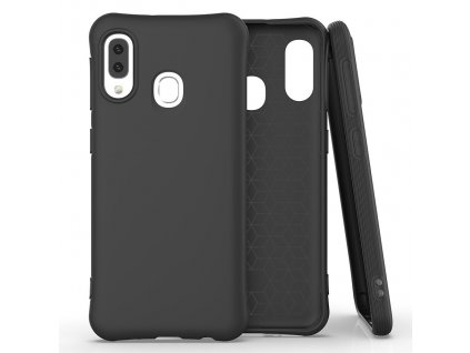 Pouzdro Soft Color Case pro Samsung Galaxy A20e černé