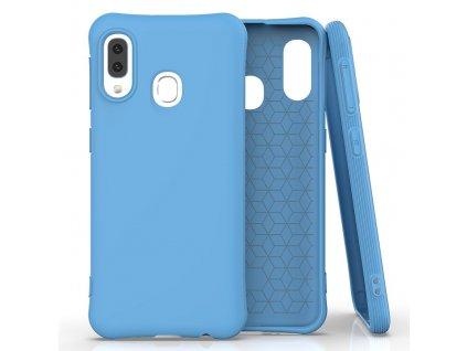Pouzdro Soft Color Case pro Samsung Galaxy A20e modré
