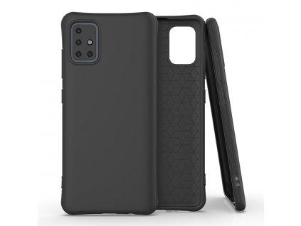 Pouzdro Soft Color Case pro Samsung Galaxy A51 černé