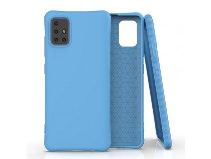 Pouzdro Soft Color Case pro Samsung Galaxy A51 modré
