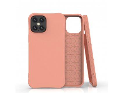 Pouzdro Soft Color Case pro iPhone 12 PRO MAX oranžové