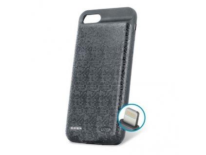 """Pouzdro se záložním zdrojem Forever BC-100 pro iPhone 7 / 8  (4,7"""") černé"""