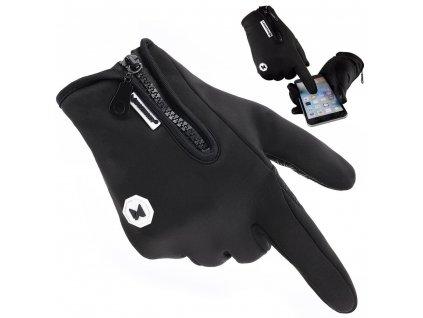 Wozinsky sportovní rukavice - černé