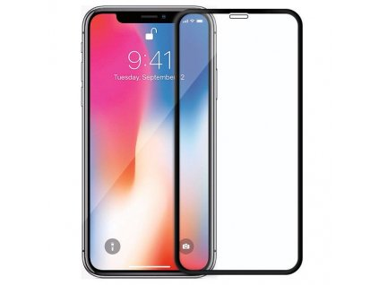 Wozinsky Full Glue tvrzené sklo iPhone 12 Mini Case friendly černé 9111201912359