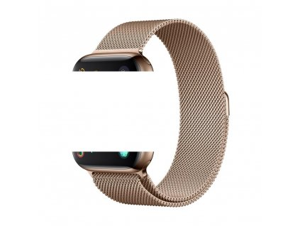 Devia Milanese řemínek k Apple Watch 1/2/3/4/5/SE 38mm/40mm zlatý