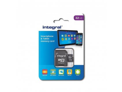 INTEGRAL micro SDHC 32GB Class 10 (blister), UHS1 90MB/s