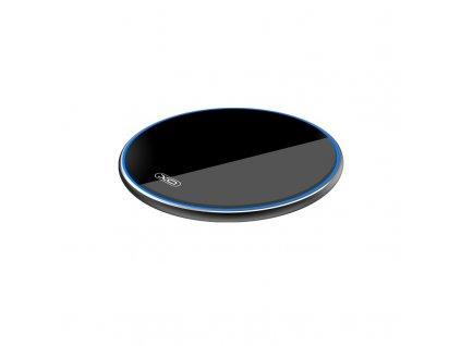 XO WX016 bezdrátová nabíječka 10W QI černá