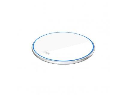 XO WX016 bezdrátová nabíječka 10W QI bílá