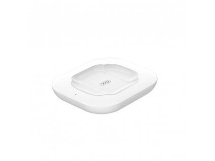 XO WX017 bezdrátová nabíječka pro Airpods 2 / Airpods PRO 10W - bílá