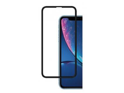 9H / 5D ochranné tvrzené sklo pro iPhone Xr / 11, černé 5900495698650
