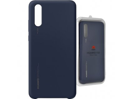Pouzdro Huawei 51992363 P20 Silicon Case deep blue