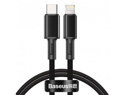 Baseus CATLGD-01 kabel USB-C PD / Apple Lightning 20W / 1m / černý