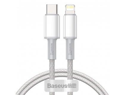 Baseus CATLGD-A02 kabel USB-C PD / Apple Lightning 20W / 2m / bílý