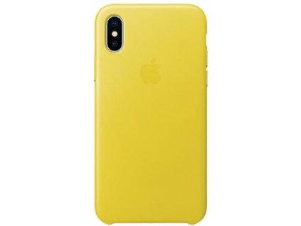Apple MRGJ2ZM/A pouzdro iPhone X / Xs žluté