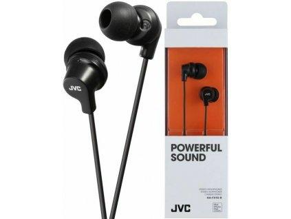 JVC HA-FX10 stereo sluchátka 3,5mm jack černé