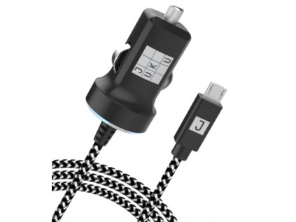 JUKU JUSPCM17 nabíječka do auta micro USB / fast charging 12W / 5V / 2,4A