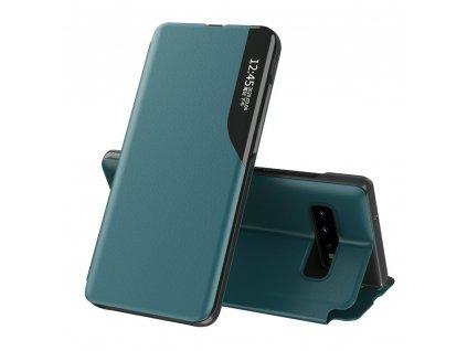 Pouzdro ECO Leather View pro Samsung G975 Galaxy S10 Plus zelené