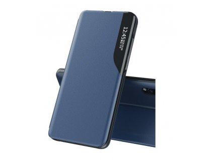 Pouzdro ECO Leather View pro Samsung Galaxy A10 modré