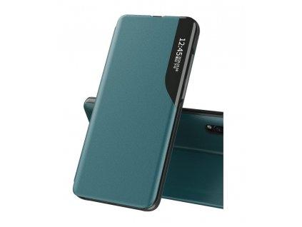 Pouzdro ECO Leather View pro Samsung Galaxy A10 zelené