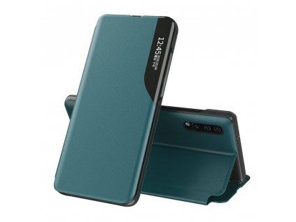 Pouzdro ECO Leather View pro Huawei P30 zelené