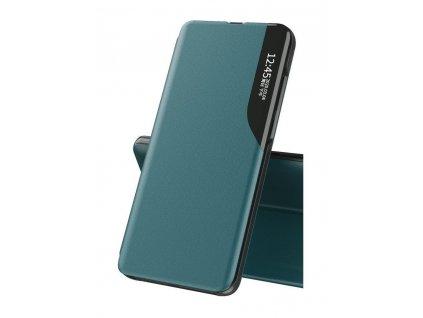 Pouzdro ECO Leather View pro Huawei P40 Lite zelené