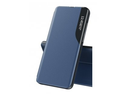 Pouzdro ECO Leather View pro Huawei P40 Lite E modré