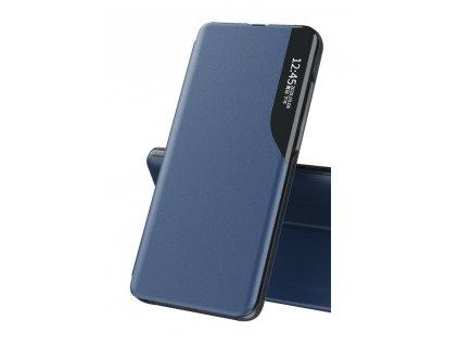 Pouzdro ECO Leather View pro Huawei Y5p modré