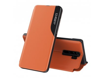 Pouzdro ECO Leather View pro Xiaomi RedMi NOTE 8 PRO oranžové