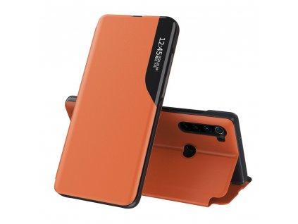 Pouzdro ECO Leather View pro Xiaomi RedMi NOTE 8T oranžové
