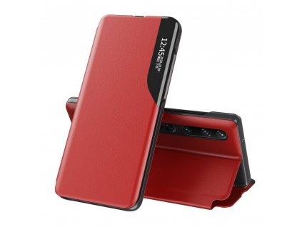 Pouzdro ECO Leather View pro Xiaomi Mi 10 PRO / Mi 10 červené