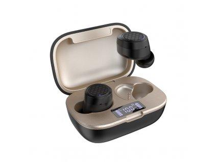 Dudao U11Pro TWS bezdrátové bluetooth sluchátka black / gold
