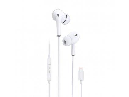 Dudao X14L sluchátka s ovládáním EarPods pro iPhone 7 / 8 / X / Xs / Lightning konektor