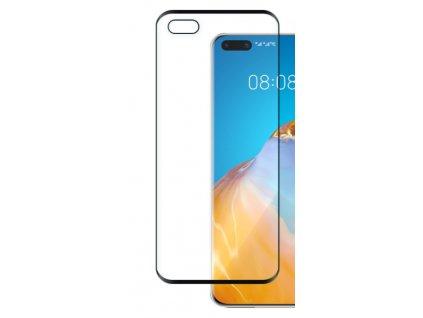 9H / 5D ochranné tvrzené sklo pro Huawei P40, černé 5900495847225