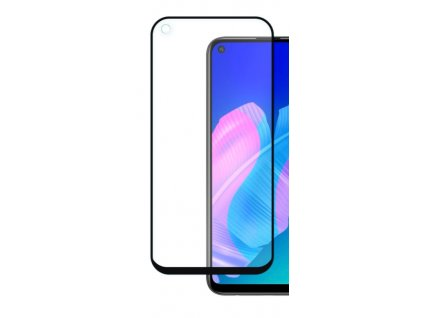 9H / 5D ochranné tvrzené sklo pro Huawei P40 Lite E, černé 5900495847218