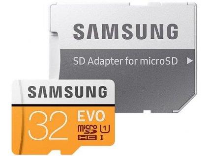 Samsung EVO+ MicroSDHC 32GB / 95 MB/s + SD adaptér